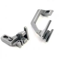 Зубчата рейка 2071400400 для 5-ниткових оверлоків BRUCE BRC X5 / 3216 / B5 з міжголковою відстанню 3 мм